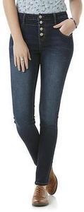 Bongo Women's High Waist Skinny Jeans