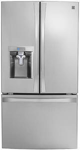 Kenmore Elite 75043 24 cu. ft. Smart French Door Bottom-Mount Refrigerator