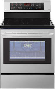 LG LRE3193ST 6.3 cu. ft. Freestanding Electric Range