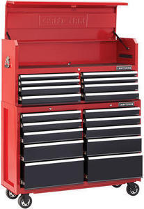 "Craftsman 52"" 18-Drawer Soft-Close Tool Chest"