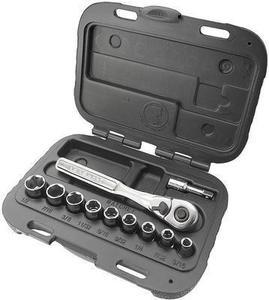 Craftsman 11 pc. 6 pt. Inch 1/4 in.Socket Wrench Set