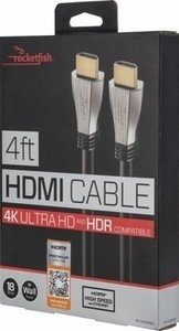 Rocketfish 4' 4K Ultra HD In-Wall HDMI Cable