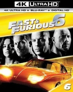 Fast & Furious 6 4K Ultra HD + Blu-ray + Digital