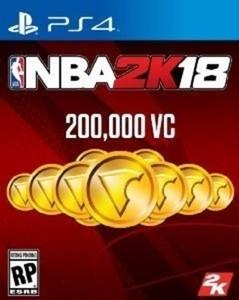 NBA 2K18 200,000 VC