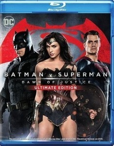 Batman v Superman: Dawn of Justice [Ultimate Edition] [Blu-ray] [2016]
