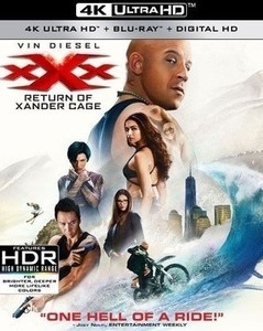 xXx: Return of Xander Cage [w Digital Copy] [4K Ultra HD Blu-ray/Blu-ray]