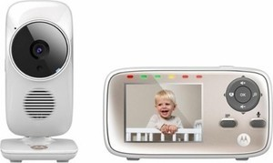 "Motorola - Video Baby Monitor with 2.8"" Screen"