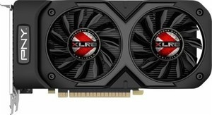 PNY - XLR8 NVIDIA GeForce GTX 1050 Ti 4GB GDDR5 PCI Express 3.0 Graphics Card