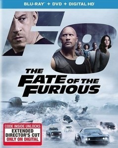 The Fate of the Furious Blu-ray + DVD + Digital