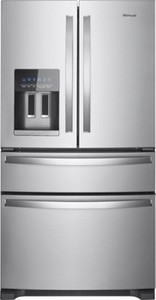 Whirlpool 24.5 Cu. Ft. 4-Door French Door Refrigerator