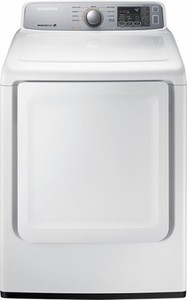 Samsung - 7.4 Cu. Ft. 9-Cycle Electric Dryer