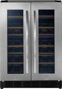 Insignia 42 Bottle or 114 Can Built-in Dual Zone Wine and Beverage Cooler