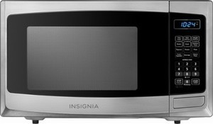 Insignia 0.9 Cu. Ft. Compact Microwave