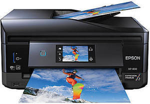 Epson Expression Premium XP-830 Small-In-One Printer, Copier, Scanner, Fax, Photo