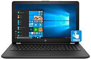 "HP 15-bs193od Laptop, 15.6"" Touch Screen, 8th Gen Intel Core i7, 8GB Memory, 250GB Solid State Drive"
