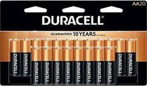 Duracell AA Batteries - 20 Pack