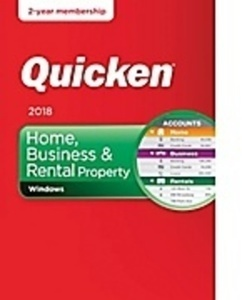 Quicken Home, Business & Rental Property