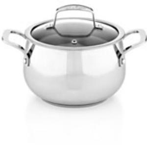 Belgique Stainless Steel 3-Qt. Soup Pot With Lid
