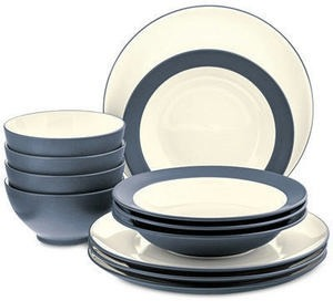 Colorwave 12-Piece Dinnerware Set