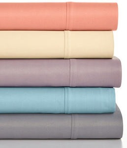 Caprice Solid 4-Pc Sheet Sets, 350 Thread Count