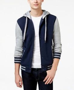 Men's Hooded Varsity Jacket