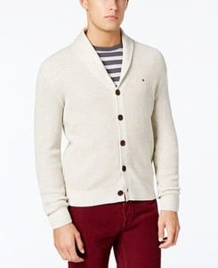 Men's Tommy Hilfiger Jeff Waffle-Knit Sweater