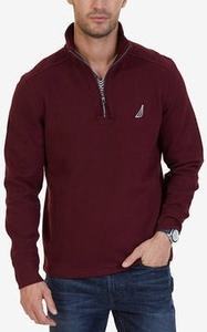 Men's Quarter-Zip Fleece Sweatshirt