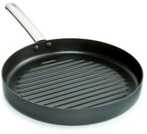 "Tools of the Trade Hard-Anodized 11"" Round Grill Pan"