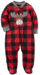 Fleece Reindeer Coverall, Baby Boys (0-24 months)