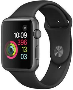 42mm Space Gray Aluminum Case with Black Sport Band