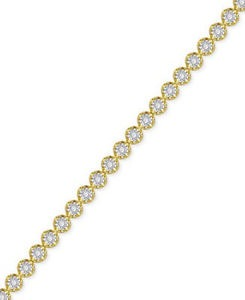 Diamond Miracle Line Tennis Bracelet (1/4 ct. t.w.)