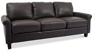 "Romy 86"" Leather Sofa"