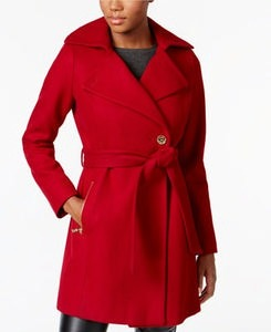 MICHAEL Michael Kors Asymmetrical Walker Coat