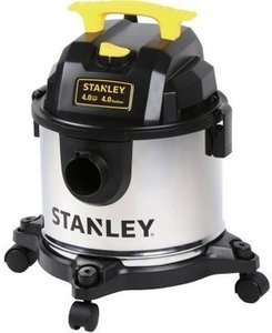 Stanley 4 Gallon 4 Peak HP Stainless Steel Wet/Dry Vac