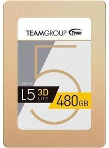 "Team Group L5 LITE 3D 2.5"" 480GB SATA Solid State Drive"