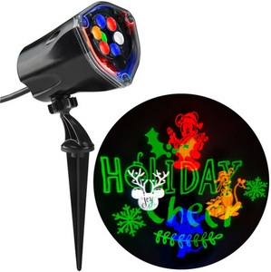 Disney Multi-function Multicolor LED Multi-design Christmas Outdoor Stake Light Projector