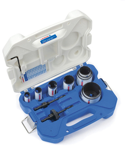 LENOX 13-Piece Bi-Metal Hole Saw Kit