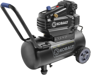 Kobalt 8-Gallon Portable Electric Horizontal Air Compressor