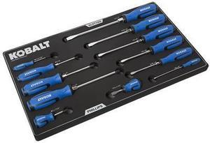 Kobalt 12-Piece Variety Pack Screwdriver Set