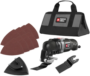 Porter-Cable 11-pc. Corded 3-Amp Oscillating Tool Kit