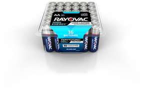 Rayovac AA 36-Pack Household Batteries