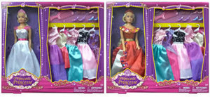 "11.5"" Princess Doll & Accessories"