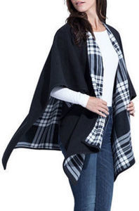 Women's Reversible Fleece Wrap