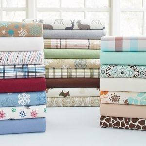 Flannel Deep Pocket Sheet Set
