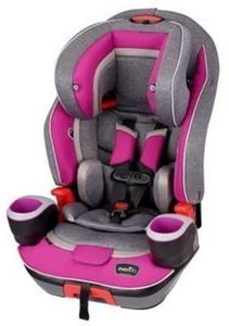 Evenflo Platinum Evolve 3-in-1 Booster Car Seat