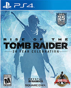 Rise of the Tomb Raider - 20 Year Celebration Edition by Square Enix PS4