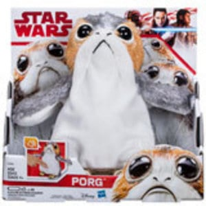 Star Wars: The Last Jedi Porg Electronic Plush by Hasbro