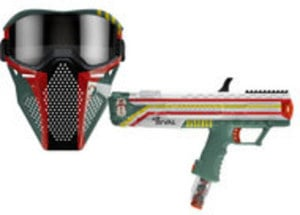 Nerf Rival Apollo XV-700 - Star Wars Mandalorian Edition Blaster and Face Mask - Only at GameStop by Hasbro