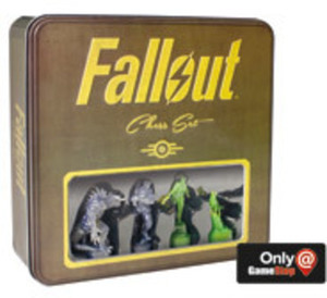Fallout Chess Set - Only at GameStop by USAopoly