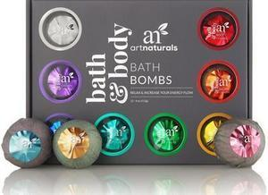 ArtNaturals Bath Bomb Set